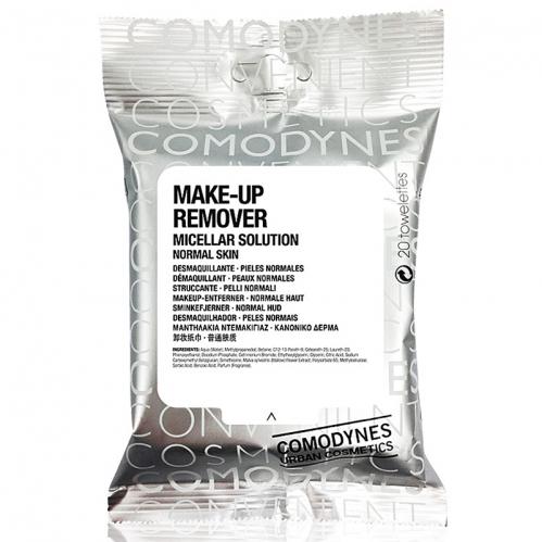 Comodynes - Comodynes Make-up Remover Micellar Solution Temizleme Mendili 20 Adet - Normal Ciltler