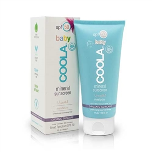 Coola Baby Spf50 Mineral Sunscreen Unscented 90ml