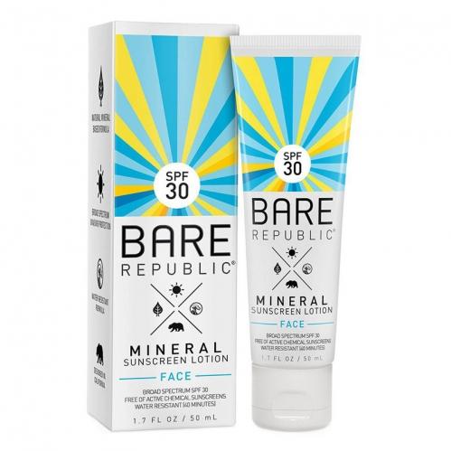 Coola Cilt Bakım Ürünleri - Coola Bare Republic Mineral Sunscreen Face Spf 30 50ml