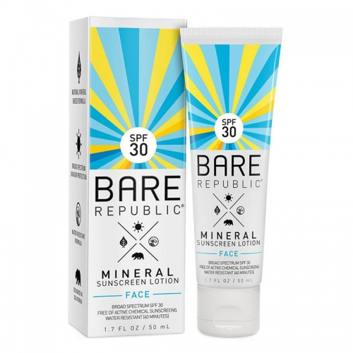 Coola Bare Republic Mineral Sunscreen Face Spf 30 50ml