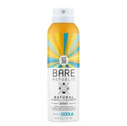 Coola Cilt Bakım Ürünleri - Coola Bare Republic Spf30 Mineral Sunscreen Sport Spray 177ml