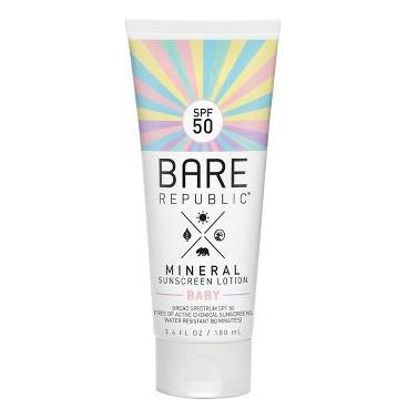 Coola Cilt Bakım Ürünleri - Coola Bare Republic Spf50 Mineral Sunscreen Baby Lotion 100ml