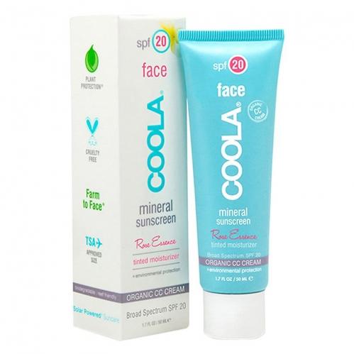 Coola Cilt Bakım Ürünleri - Coola Mineral Face Sunscreen Spf20 Rose Essence CC Cream 50ml - Kuru - Hassas Cilt