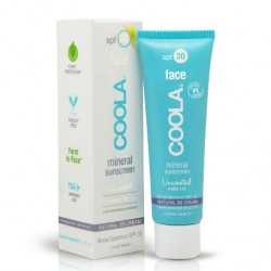 Coola Cilt Bakım Ürünleri - Coola Mineral Face Sunscreen Unscented Matte Tint Spf30 50ml