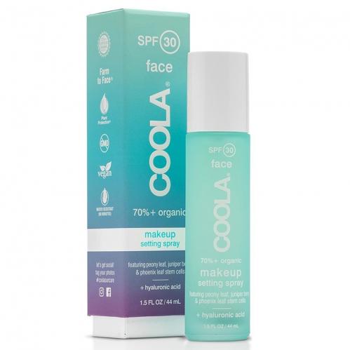 Coola Cilt Bakım Ürünleri - Coola Organic SPF30 Makeup Setting Sunscreen Spray 44ml