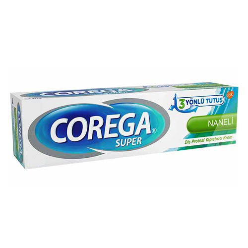Corega - Corega Diş Protezi Yapıştırıcı Krem Naneli 40gr