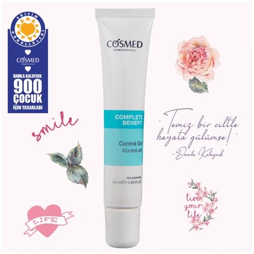 Cosmed Ürünleri - Cosmed Benefit Akne Kontrol Jeli 20ml-