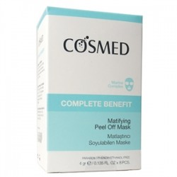 Cosmed Ürünleri - Cosmed Complete Benefit Matifying Peel Off Mask 8 x 4gr