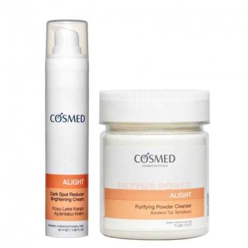 Cosmed Ürünleri - Cosmed Lekeli Cilt Karşıtı Bakım Seti1