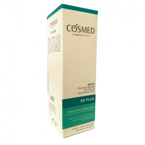 Cosmed Ürünleri - Cosmed SD Plus Arındırıcı Yüz ve Vücut Temizleyici 100 ml