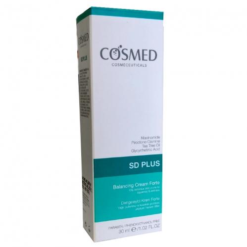 Cosmed Ürünleri - Cosmed SD Plus Dengeleyici Krem Forte 30 ml