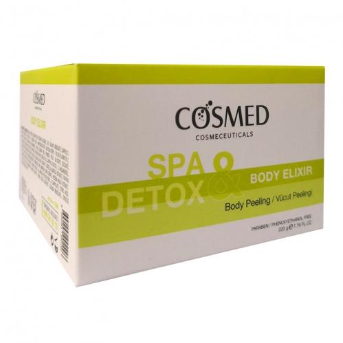 Cosmed Ürünleri - Cosmed Spa Detox Body Elixir Vücut Peelingi 220 gr