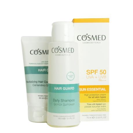 Cosmed Ürünleri - Cosmed Spf50 High Protection Cream 75ml Güneş Bakım SETİ