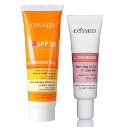 Cosmed Ürünleri - Cosmed Sun Essential Spf50 Çok Hassas Ciltler için SET