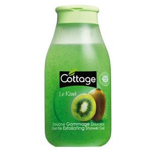 Cottage Gentle Exfoliating Shower Gel Kiwi 250ml