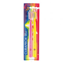 Curaprox - Curaprox 5460 Ultra Soft Rainbow 2'li Set Özel Tasarım Diş Fırçası