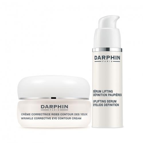Darphin Ürünleri - Darphin Uplifting Serum Eyelids Definition 15ml + Darphin Wrinkle Corrective Eye Contour Cream 15ml