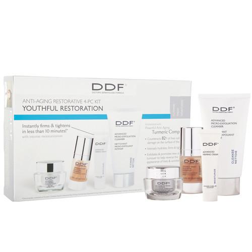 DDF Cilt Bakım ürünleri - DDF Youthful Restoration Anti-Aging SkinCare Kit
