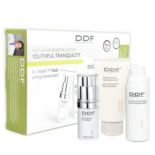 DDF Cilt Bakım ürünleri - DDF Youthful Tranquility Anti-Aging Sensitive SkinCare Kit