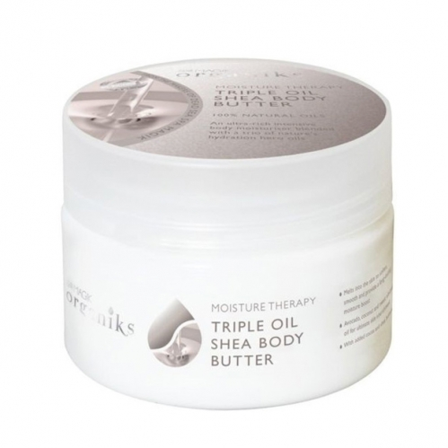 Dead Sea Spa Magik Ürünleri - Dead Sea Spa Magik Organiks Sleep Therapy Triple Oil Shea Body Butter 250ml