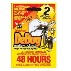Debug - Debug Insect Repellent Patch 2 Pack