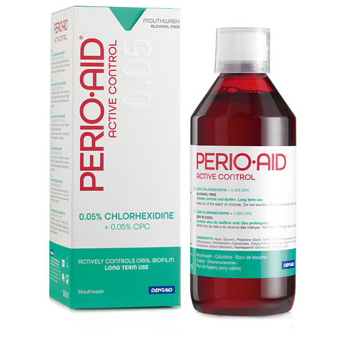 Dentaid - Dentaid Perio·Aid Active Control Ağız Çalkalama Suyu 500 ml -N32190