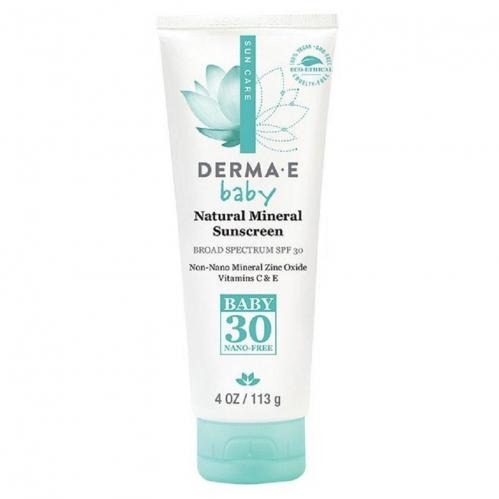 Derma E Ürünleri - Derma E Baby Natural Mineral Sunscreen SPF30 113gr