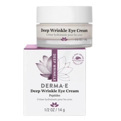 Derma E Ürünleri - Derma E Deep Wrinkle Peptide Eye Creme 14gr