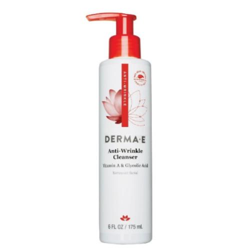 Derma E Ürünleri - Derma E Anti Wrinkle Vitamin A & Glycolic Cleanser 175ml