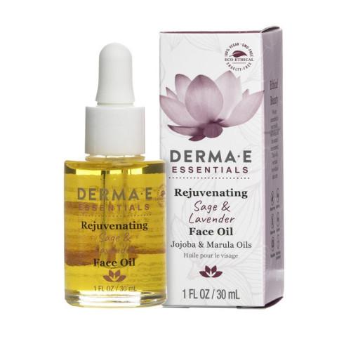Derma E Ürünleri - Derma E Rejuvenating Sage & Lavender Face Oil 30ml