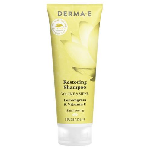 Derma E Ürünleri - Derma E Volume & Shine Restoring Shampoo 236ml