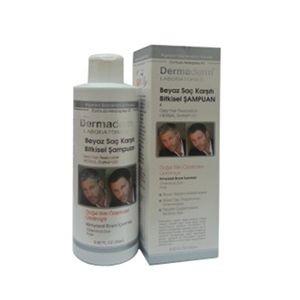 DermaDerm ürünleri - DermaDerm Beyaz Saç Karşıtı Bitkisel Şampuan 250ml