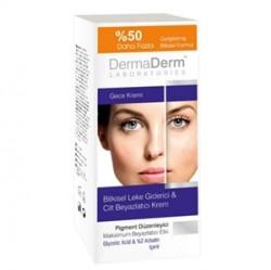 DermaDerm ürünleri - DermaDerm Leke Karşıtı Gece Kremi 100g