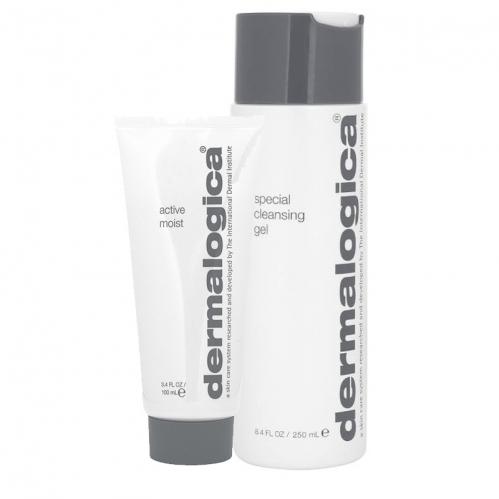 Dermalogica Ürünleri - Dermalogica Active Moist 100 ml & Special Cleansing Gel 250ml SET