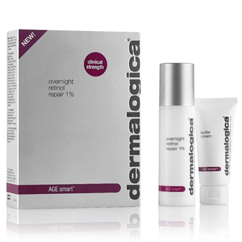 Dermalogica Ürünleri - Dermalogica Overnight Retinol Repair 1% 25ml + Buffer Cream 15ml