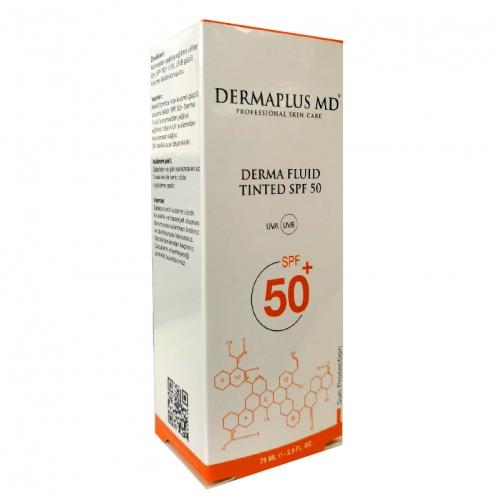 DermaPlus Md Ürünleri - Dermaplus Derma Fluid Tinted Spf50 60ml