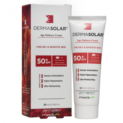 Dermasolar - Dermasolar Age Defence Cream SPF50+ 50ml