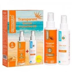 Dermoskin - Dermoskin Bronze Protective Oil Spf6 100ml After Sun 100ml HEDİYE