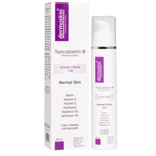 Dermoskin - Dermoskin Topicalbiotin N Bakım Kremi 50ml