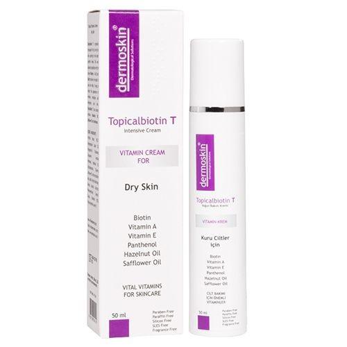 Dermoskin - Dermoskin Topicalbiotin T Bakım Kremi 50ml