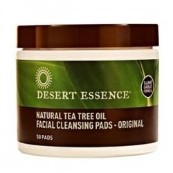 Desert Essence - Desert Essence Çay Ağacı Özlü Yüz Temizleme Pedleri-50Ped
