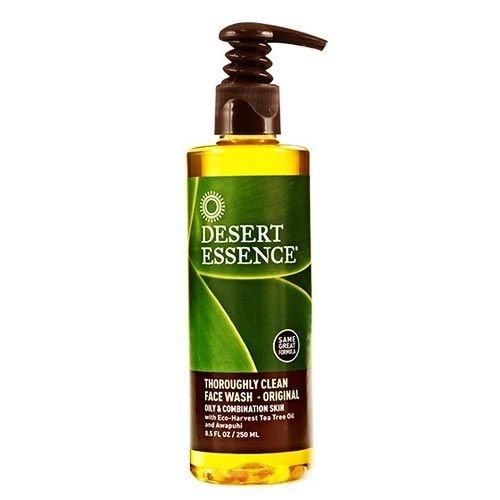 Desert Essence - Desert Essence Derinlemesine Yüz Yıkama Jeli - Yağlı-Karma Cilt 250ml