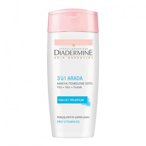 Diadermine - Diadermine Essential Care 3'ü 1 Arada Makyaj Temizleme Sütü 200 ml