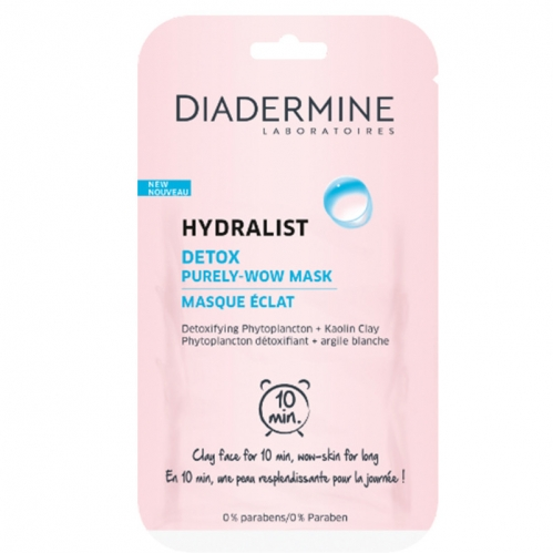 Diadermine - Diadermine Hydralist Detox Purely-Wow Mask 8ml