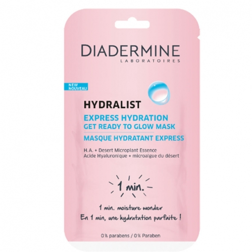 Diadermine - Diadermine Hydralist Express Hydration Mask 8ml