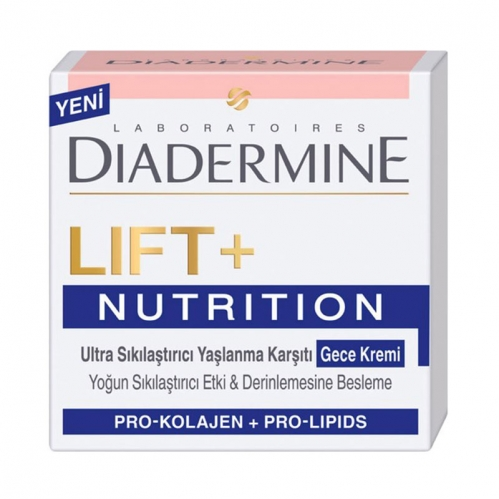Diadermine - Diadermine Lift+Nutritive Gece Kremi 50 ml