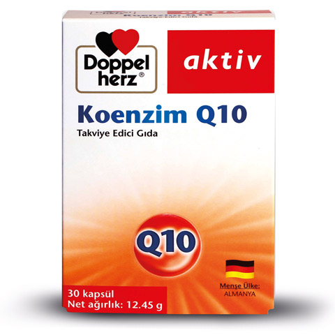 Doppel Herz - Doppel Herz Aktiv Koenzim Q10 30 Kapsül