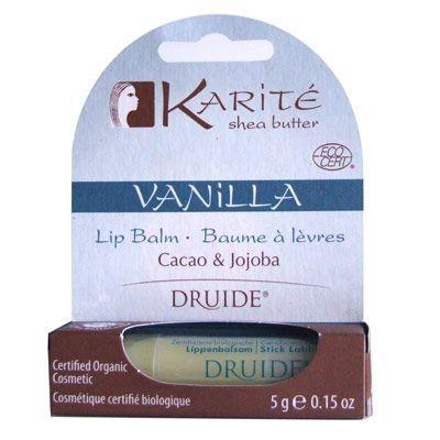 Druide Ürünleri - Druide Vanilla Shea Butter Lip Balm 5gr