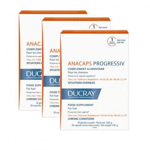 Ducray Ürünleri - Ducray Anacaps Progressiv 30 Kapsül | 3 Al 2 Öde