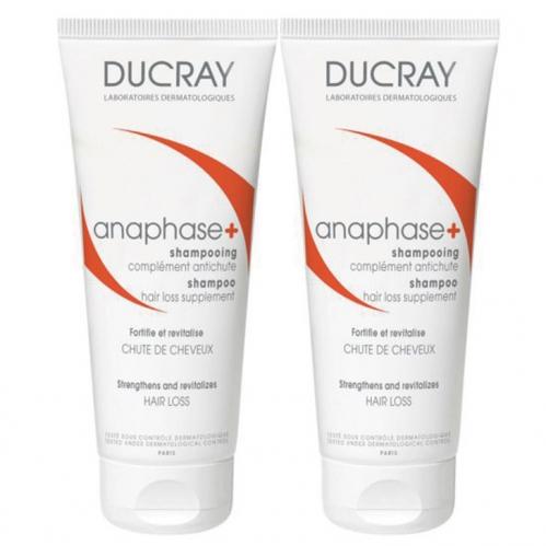 Ducray Ürünleri - Ducray Anaphase +Plus Shampoo 2 x 200ml